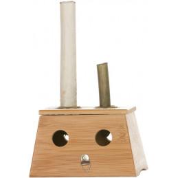 Moxakasten aus Holz mit 2...