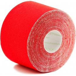 Turmalin Tape 5,0 m x 5 cm rot
